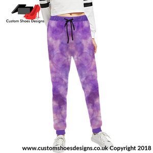 Purple Womens Sweatpants All Over Print (L11)