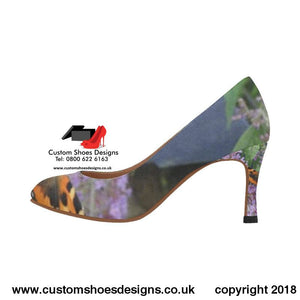 Butterfly Womens High Heels (048)