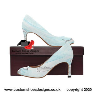Dolphins Womens High Heels (Model 048) (048)