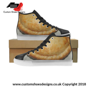 Cornish Pasty Light Up Womens Shoes Custom (045)