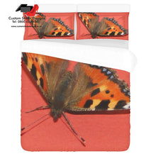 Butterfly 3-Pieces Bedding Set