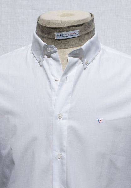 Men's fitted shirt - Bright White