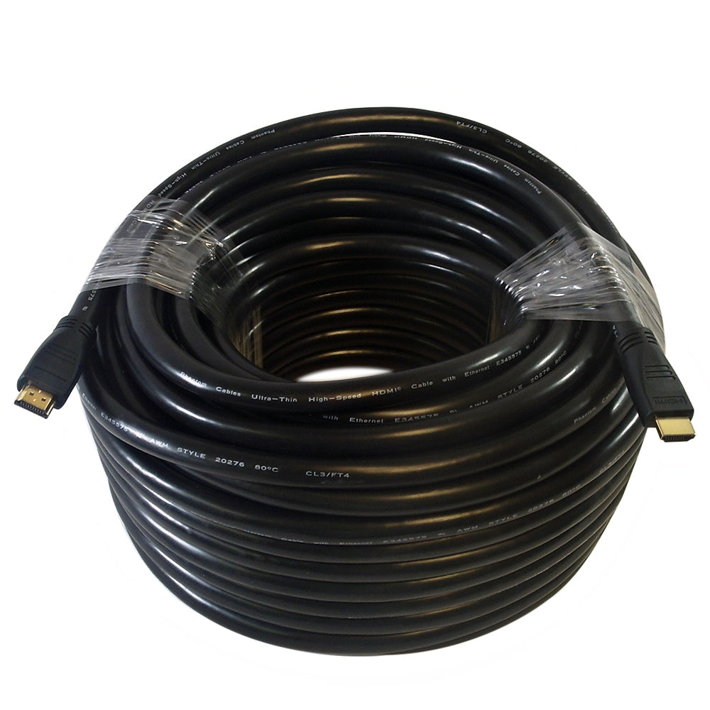 100ft HDMI High Speed w/Ethernet 1080P, 60Hz Cable - CL3/FT4 22AWG - Source IT Store