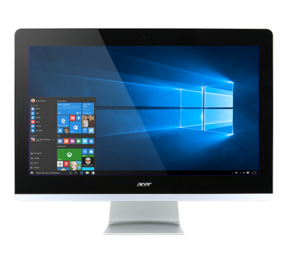 Aspire Z3 All in One Desktop - i3-7100T, 24.8