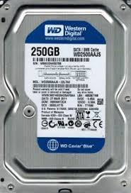 250GB 7200RPM 3.5 SATA - WD2500AAJS - Source IT Store