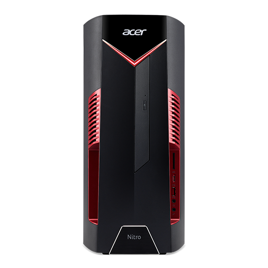 NITRO 50 - Intel I7-8700 hexa Core, 16GB, 2TB+ 16gb SSD, Nvidia Geforece GX1060 6gb, Wireless charging port