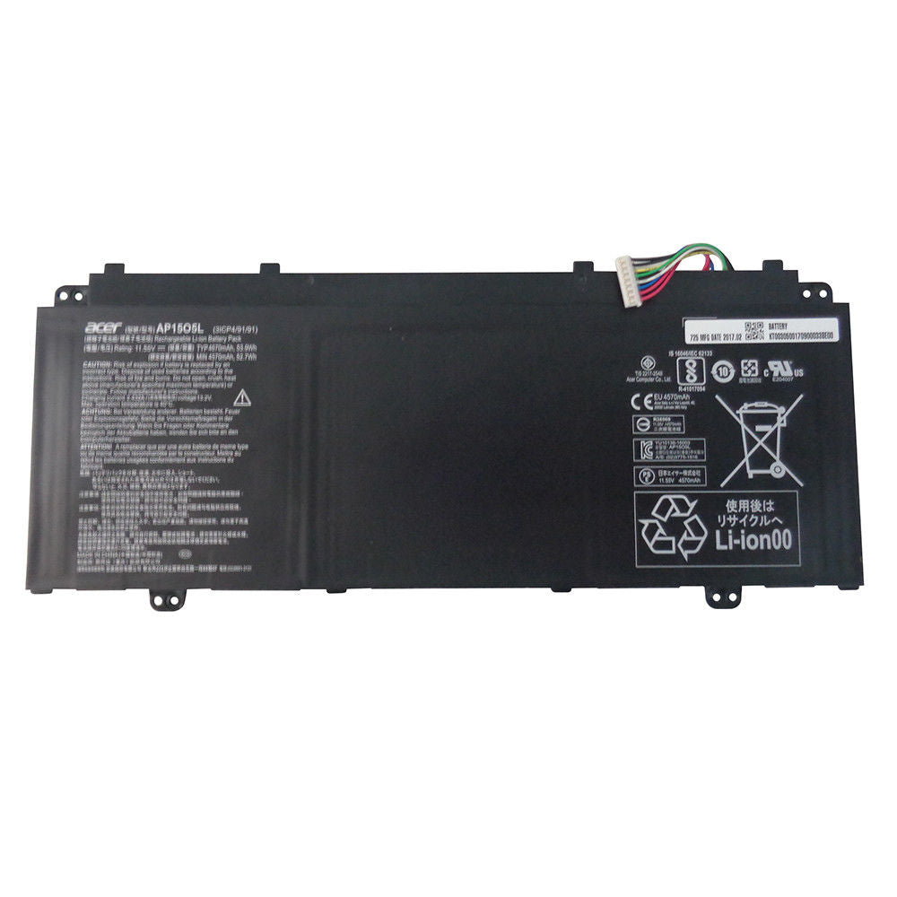 Acer E5 and Swift 5 replacement 3 cell Battery - Source IT Store