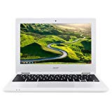 "Acer Chromebook 11, 11.6"" HD (1366 x 768) Resolution, Intel Celeron N3060 1.6 GHz, 4 GB DDR3L RAM, 32 GB eMMC, Chrome OS, Color: Denim White - Source IT Store"