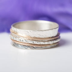 Spinner Ring by Angela Olson Luberger