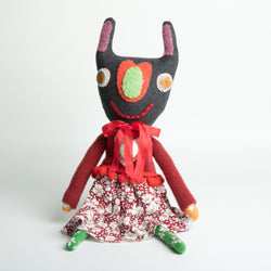Bunny in A Red Sweater Doll