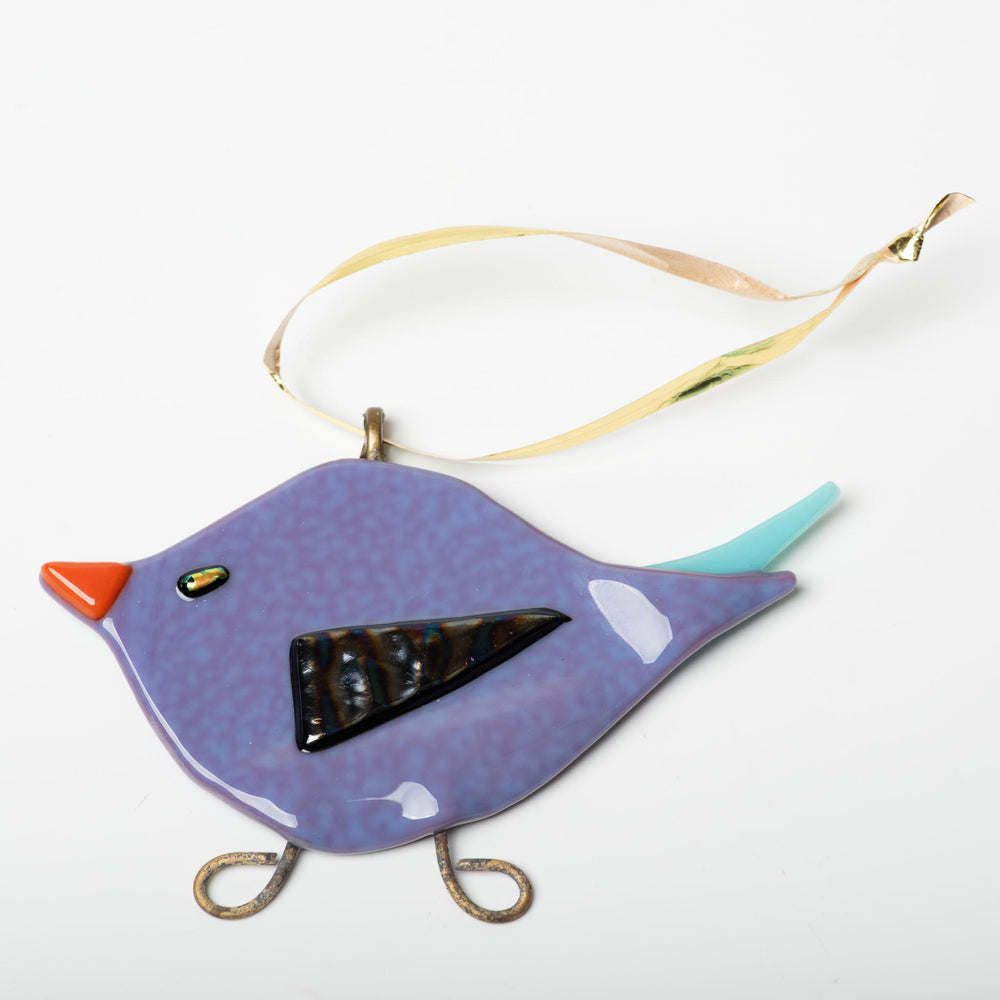 Purple Bird Ornament