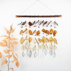 9-Strand Brown Ombre Wind Chime