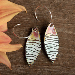 Pink Rolling Hills Petal Earrings