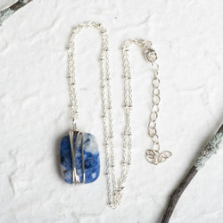 Wrapped Sodalite Necklace