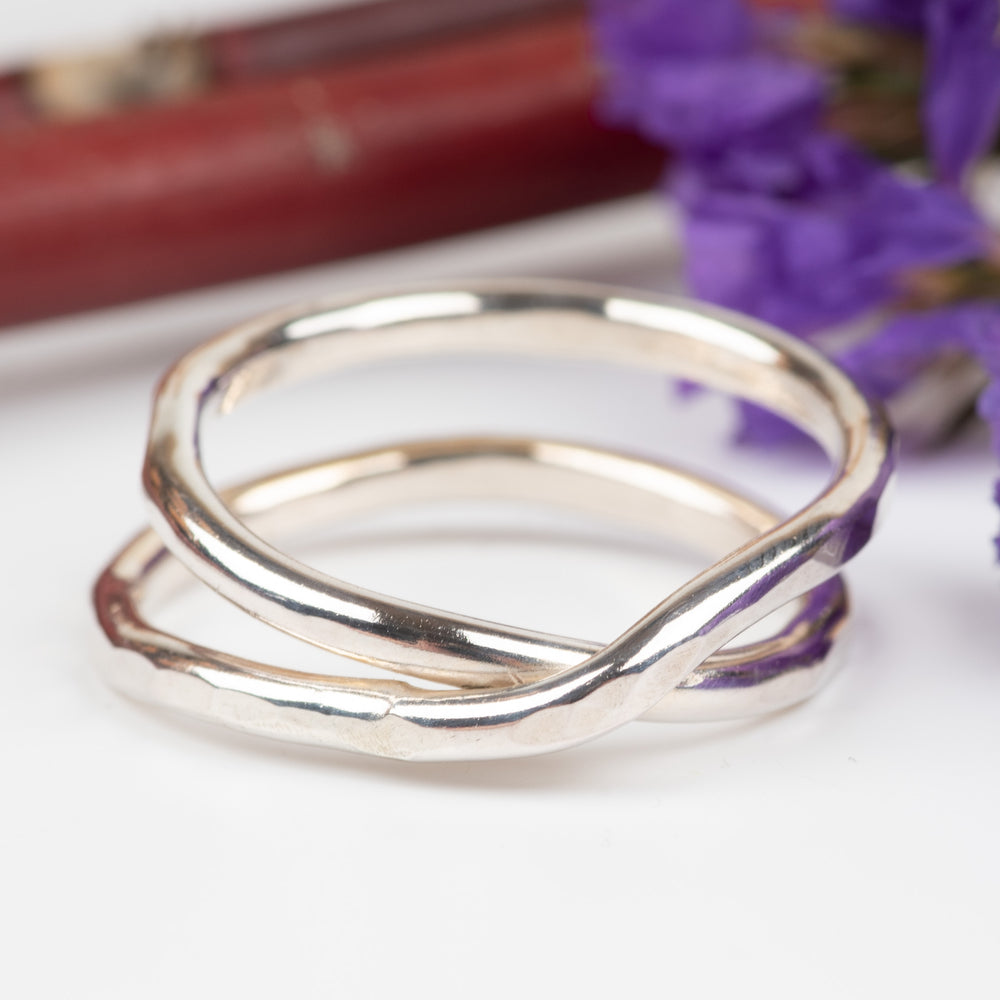 2-Wrap Sterling Silver Ring