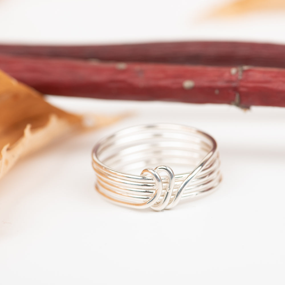 5-Wrap Ring With Center Wrap