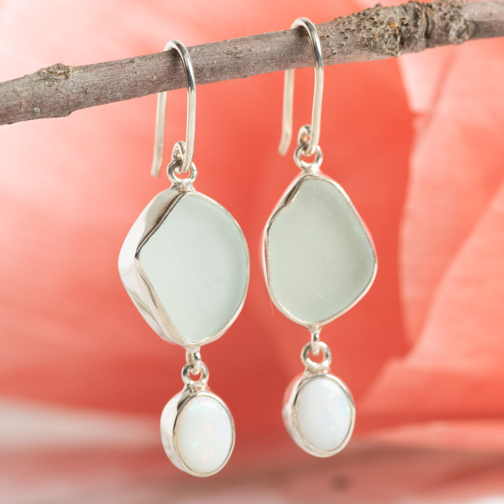 Opal Drop Earring