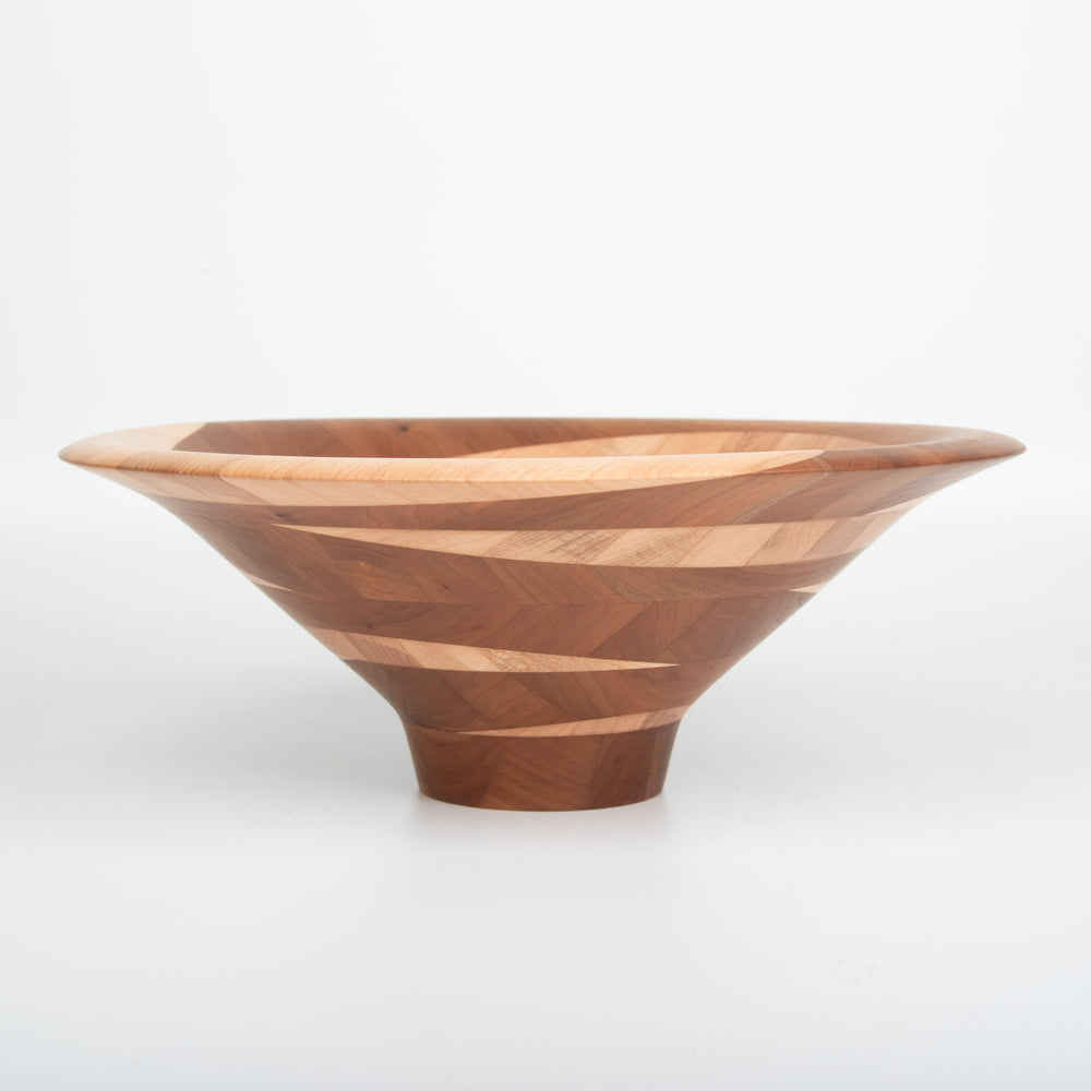 Cherry and Soft Maple Bowl