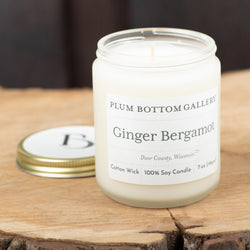Ginger Bergamont 7oz Candle