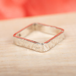 Square Ring, Size 7