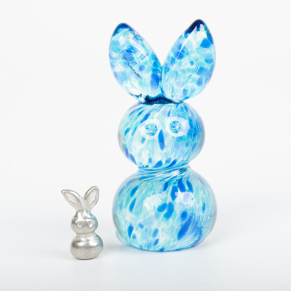 Blues Glass Rabbit