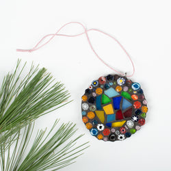 Small Milli Fiori Round Ornament