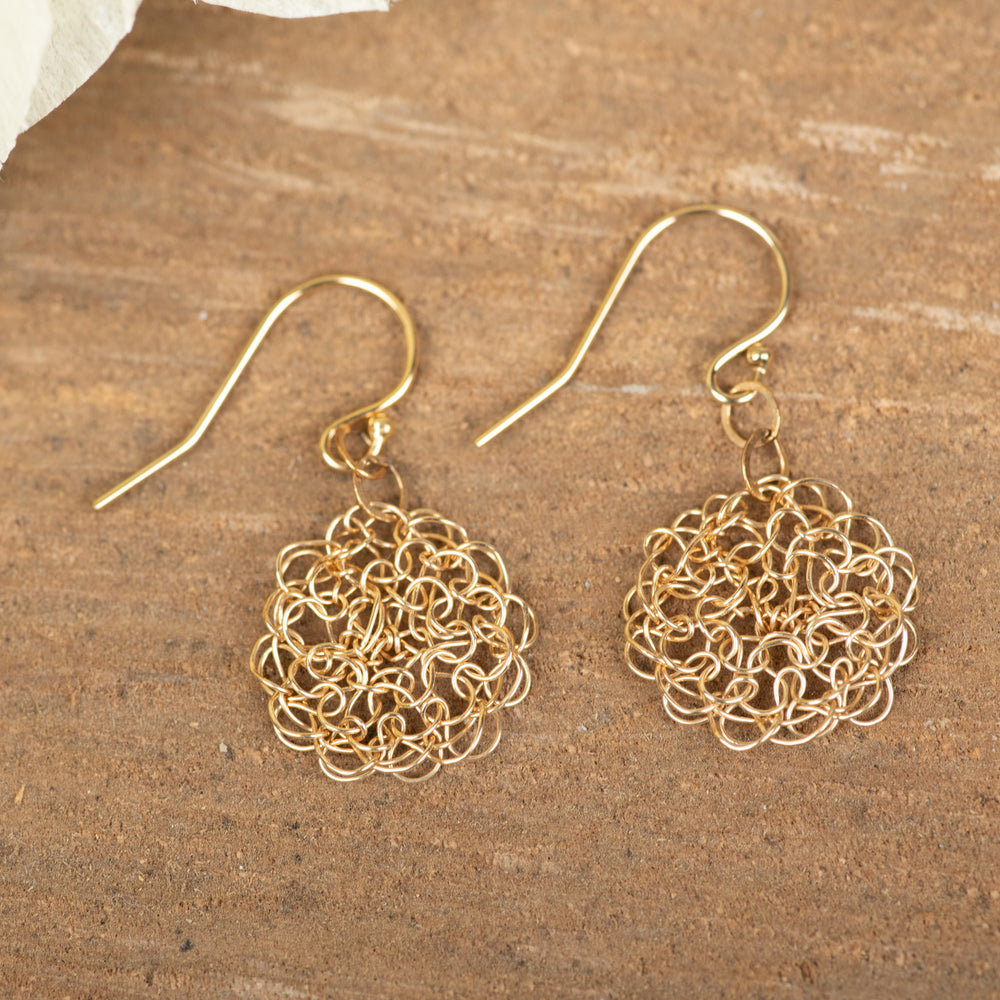 Gold Fill Small Earring