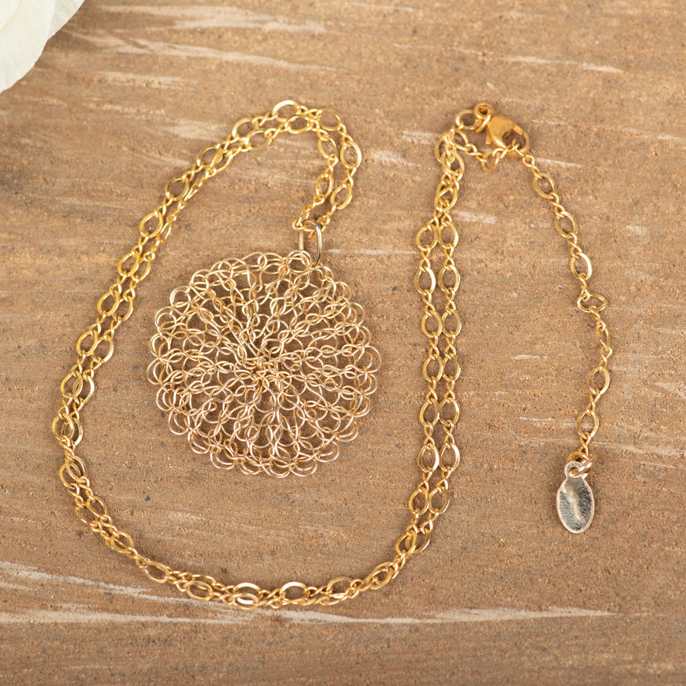 Gold Fill Medium Necklace