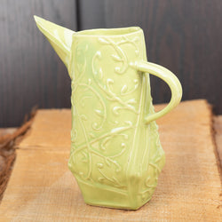 Leaf Green Ivy Darted Pitcher