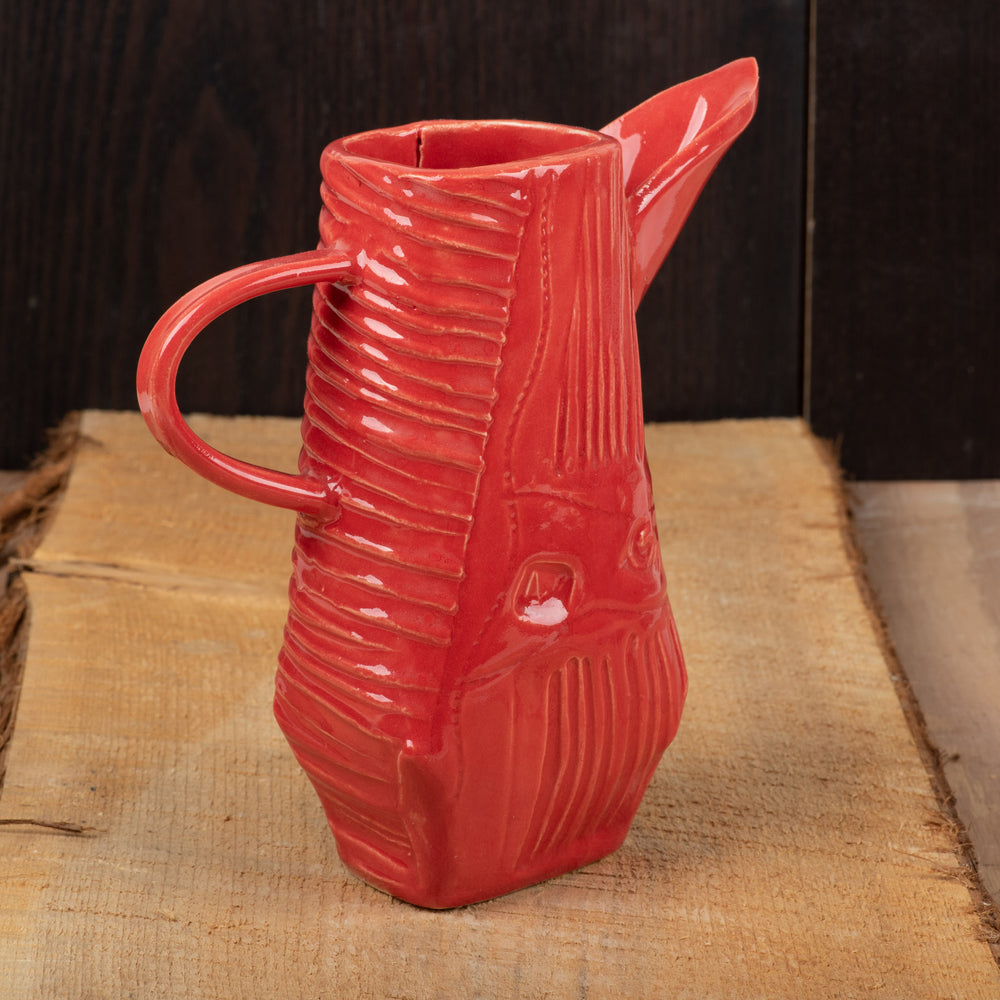 Red Darted Pitcher