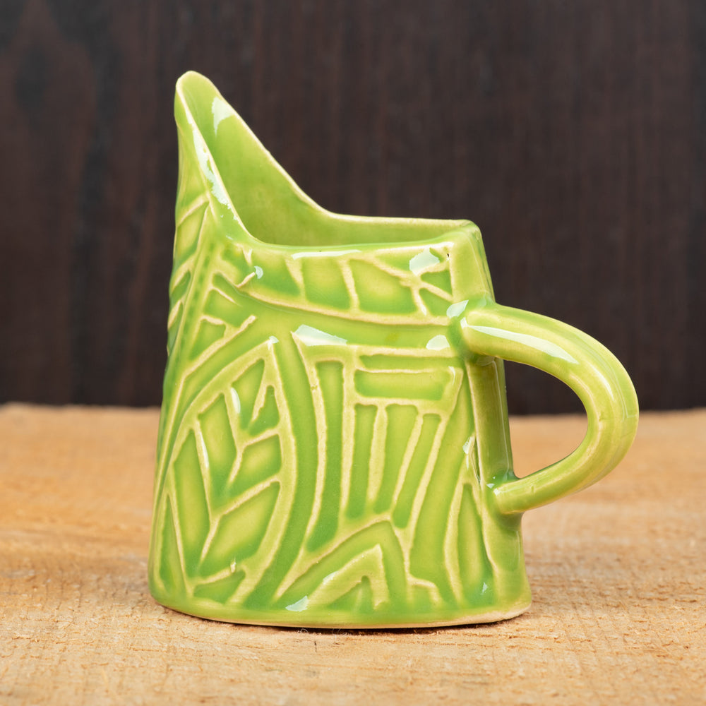 Lime Leaf Mini Pitcher