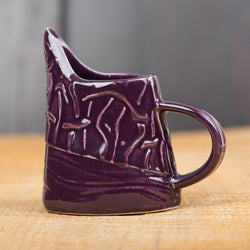 Purple Waves & Lines Mini Pitcher
