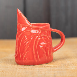 Red Paisley Mini Pitcher