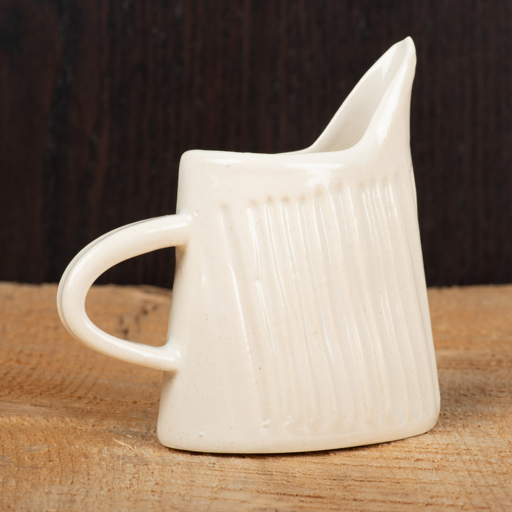 White Matte Mini Pitcher