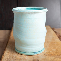 Canister in Caribbean Blue Glaze