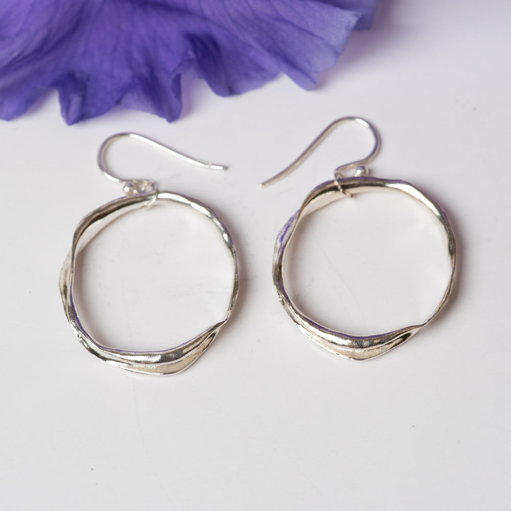Essential Sterling Circle Earrings
