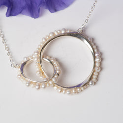 Freshwater Pearl Joined Pod Necklace