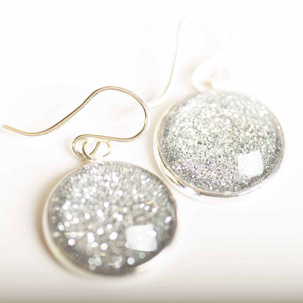 Quartz Shimmer Drop Earring