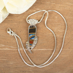 Porcelian Shard Necklace