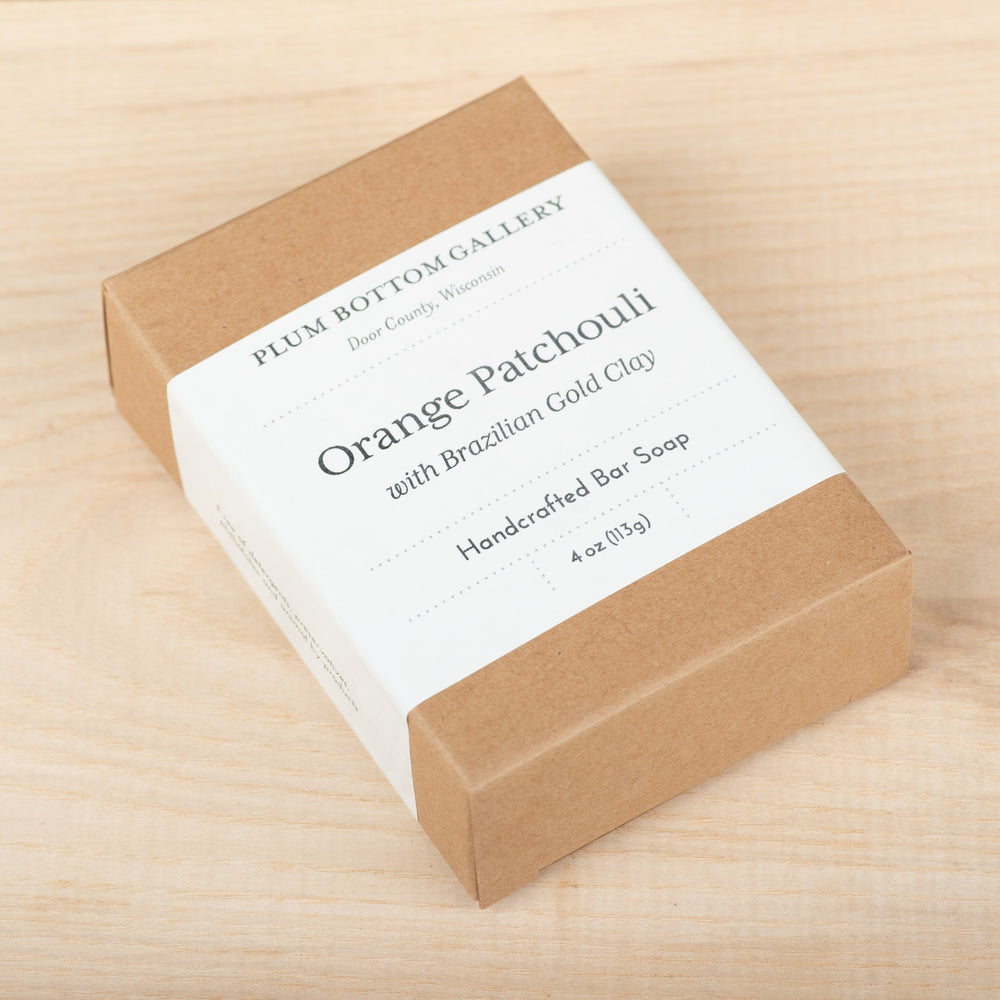 Orange Patchouli Bar Soap