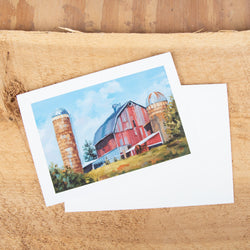 """Surrounded By Silos"" Card"