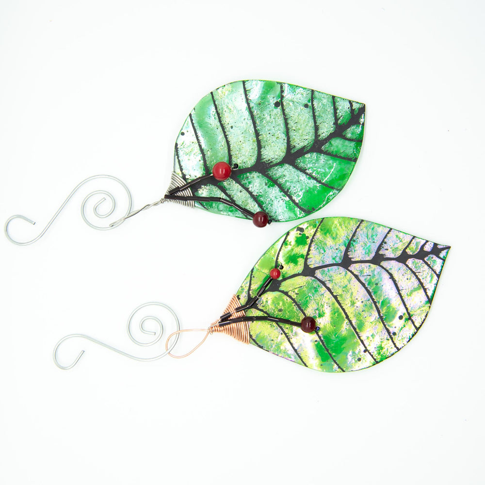 Green Irid Ornament