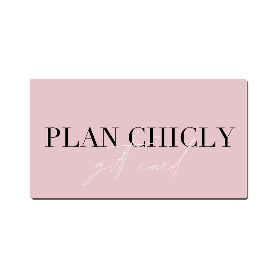 Plan Chicly Gift Card