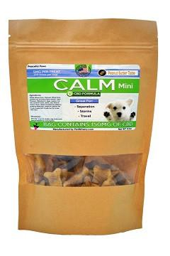 Calming Mini Treats For Dogs Peanut Butter Flavor
