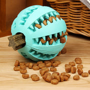 Dog or Cat Interactive Natural Rubber Toy Ball Food Dispenser