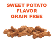 Sweet Potato Flavor Grain Free Calming Treats