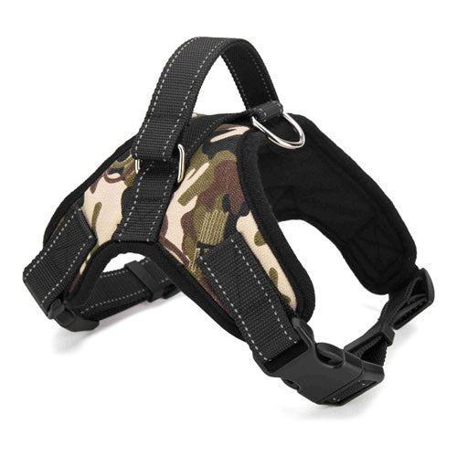 Soft Adjustable Fashion Dog Harness
