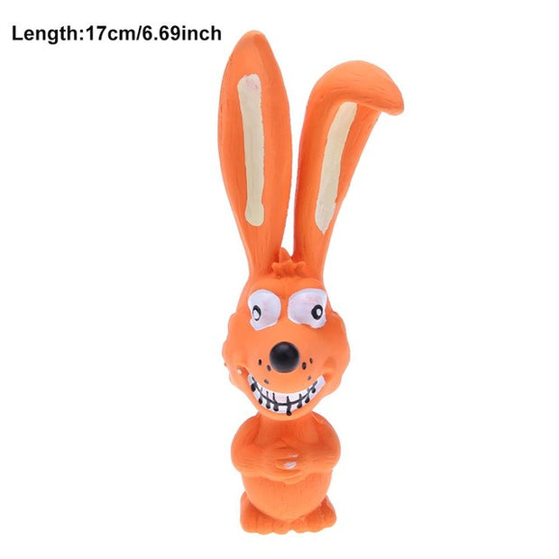 1PC Screaming Rubber Chicken Squeak Toy
