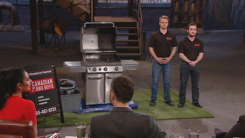 Canadian BBQ Boys - Dragons Den Season 13 Episode 12 - Barbecue Cleaning Service
