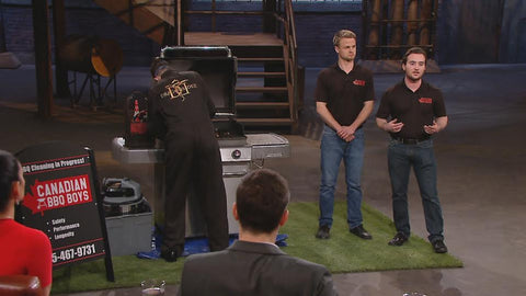 Canadian BBQ Boys - Dragons Den - BBQ Cleaning Company
